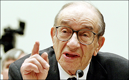 Alan Greenspan Blank Meme Template