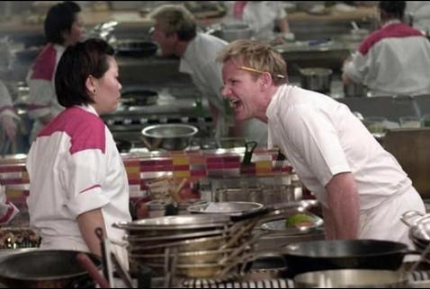 High Quality Angry Chef Gordon Ramsay Blank Meme Template