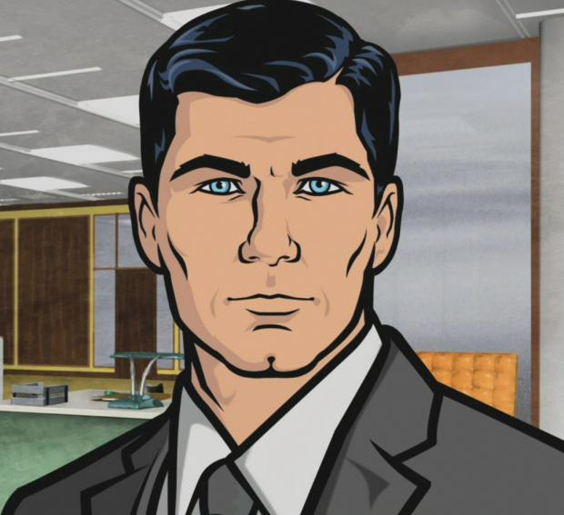 High Quality Archer Blank Meme Template