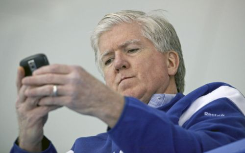 Brian Burke On The Phone Blank Meme Template