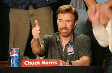 High Quality Chuck Norris Approves Blank Meme Template
