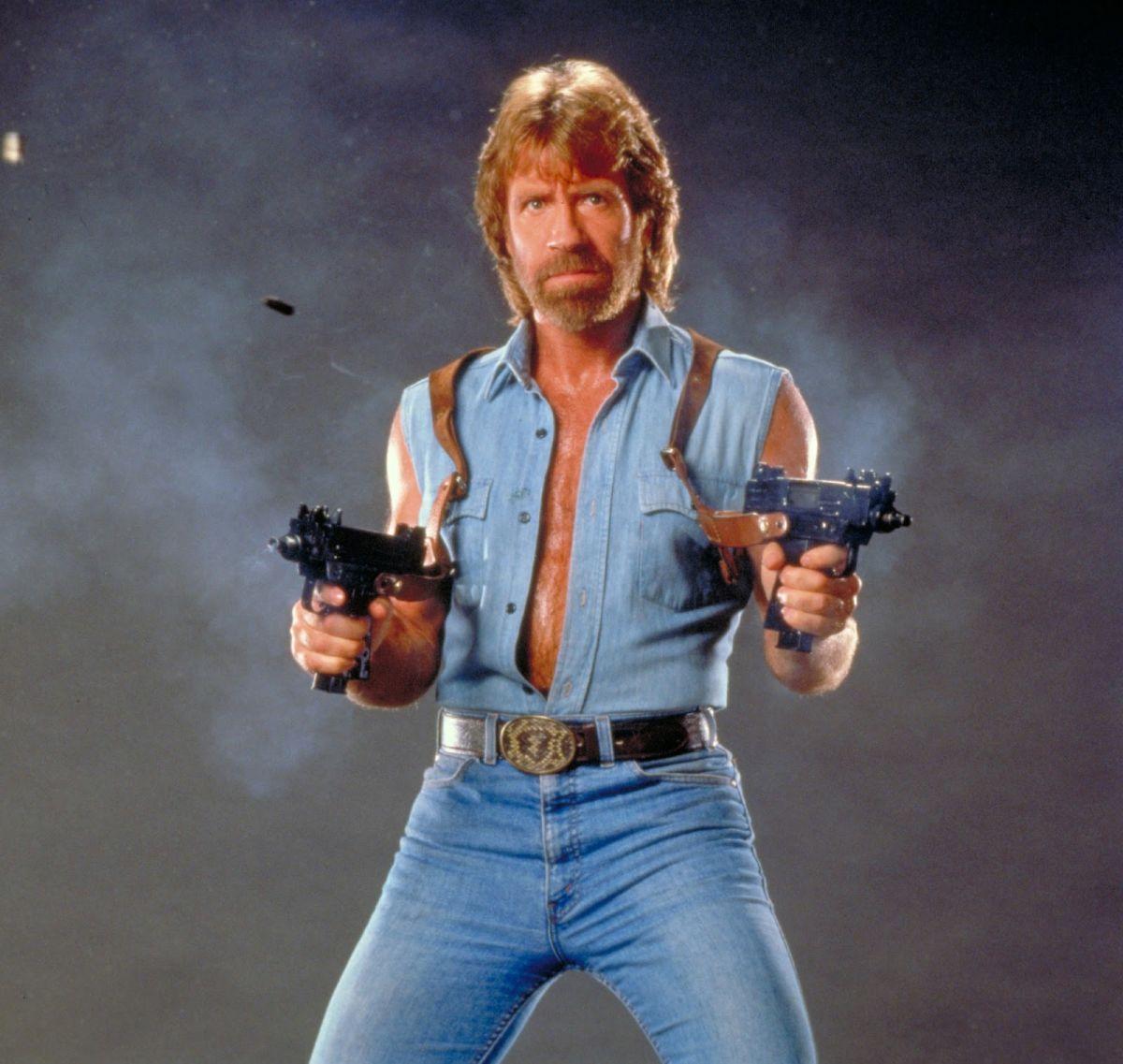 Chuck Norris Guns chuck norris guns meme generator imgflip,Meme Generator Two Images