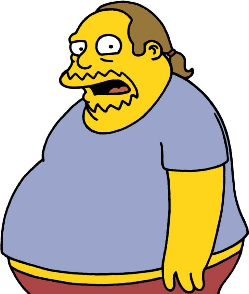 Comic Book Guy Blank Meme Template