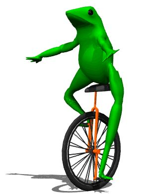 High Quality Dat Boi Blank Meme Template