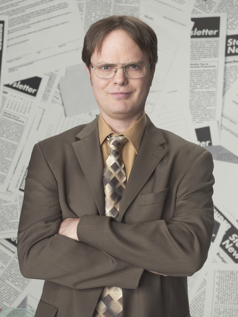 High Quality Dwight Schrute 2 Blank Meme Template
