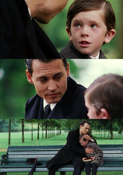Finding Neverland Blank Meme Template