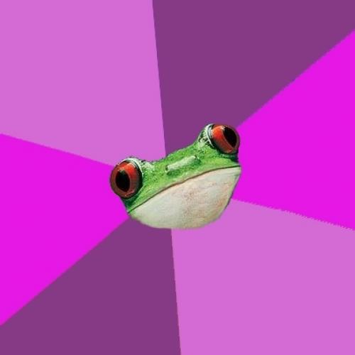High Quality Foul Bachelorette Frog Blank Meme Template