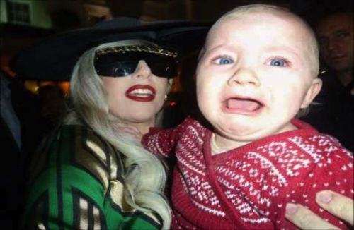 High Quality Gaga Baby Blank Meme Template