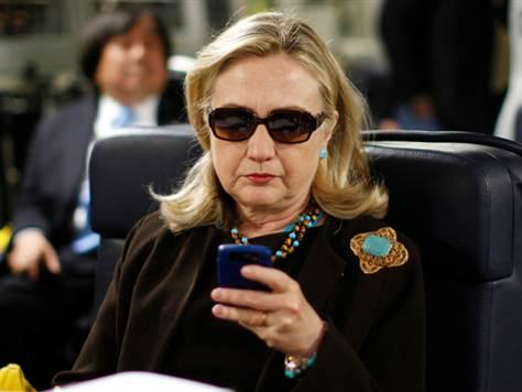 Hillary Clinton Cellphone Blank Meme Template