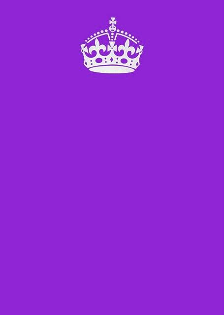 High Quality Keep Calm And Carry On Purple Blank Meme Template