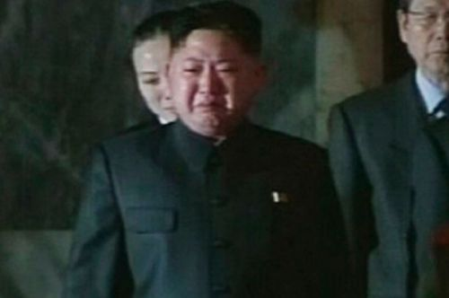 High Quality Kim Jong Un Sad Blank Meme Template