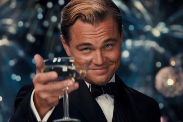 Image result for leo dicaprio meme cheers