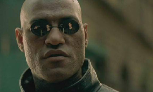 High Quality Matrix Morpheus Blank Meme Template