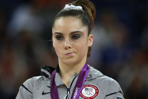 High Quality McKayla Maroney Not Impressed Blank Meme Template