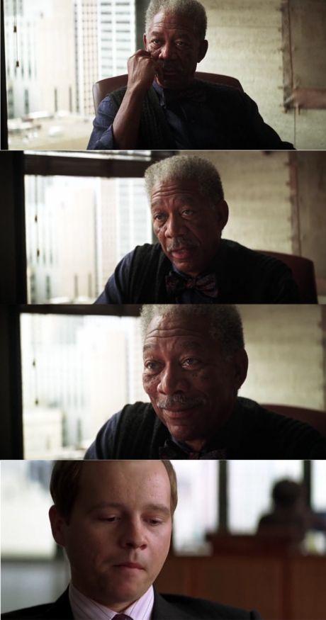 Morgan Freeman Good Lu...