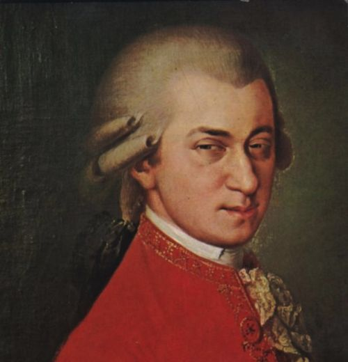 Mozart Not Sure Blank Meme Template