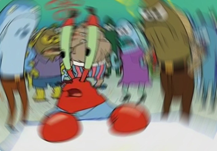 Mr Krabs Blur Meme Blank Meme Template