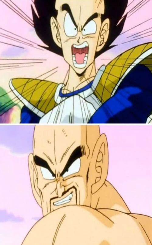 No Nappa Its A Trick Blank Meme Template