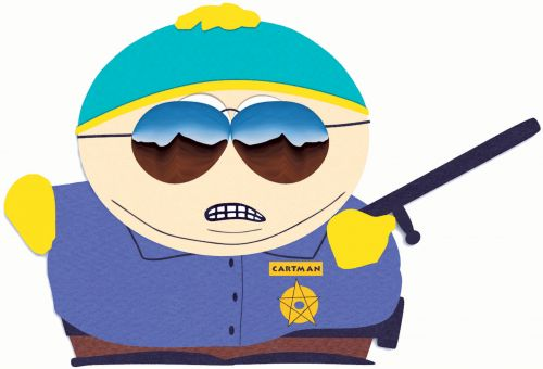 High Quality Officer Cartman Blank Meme Template