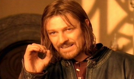 One Does Not Simply Blank Meme Template