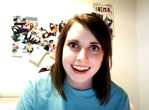 Overly Attached Girlfriend Blank Meme Template