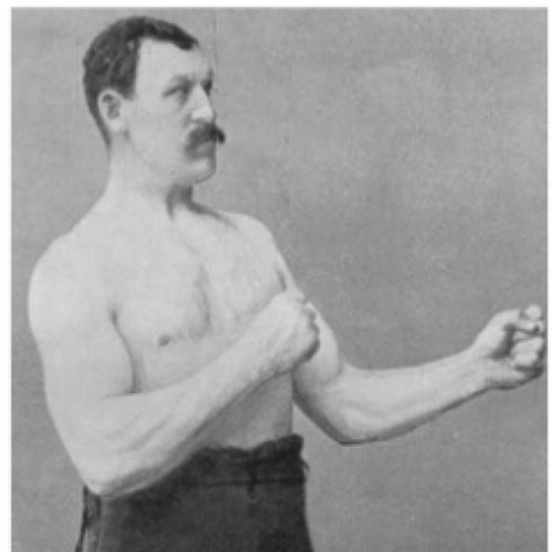 Overly Manly Man overly manly man meme generator imgflip