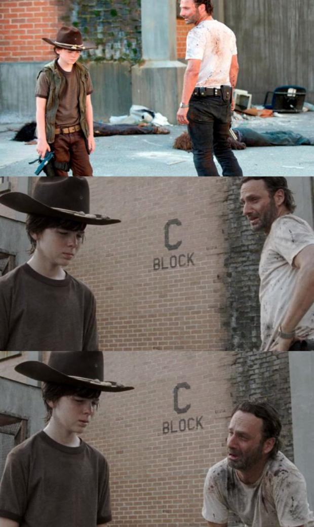 Rick and Carl 3 rick and carl 3 meme generator imgflip
