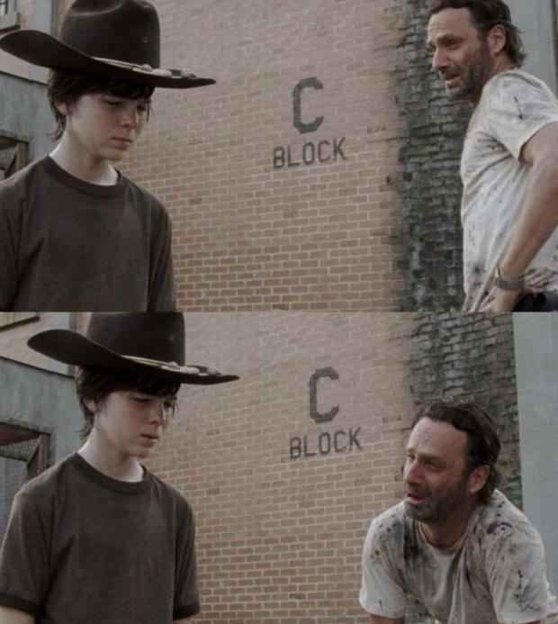 Rick and Carl rick and carl meme generator imgflip