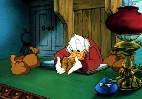 Image result for scrooge mcduck penny