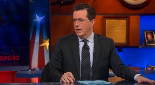 High Quality Speechless Colbert Face Blank Meme Template