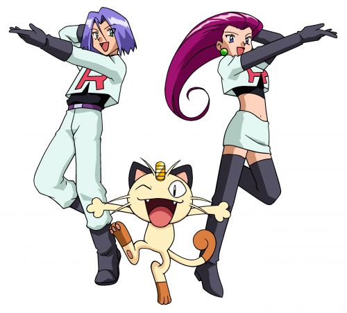 Team Rocket Blank Meme Template