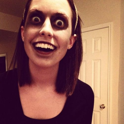 High Quality Zombie Overly Attached Girlfriend Blank Meme Template
